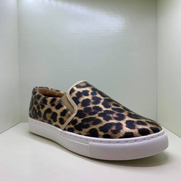 Pierre Dumas Shoes | Cheetah Slip On